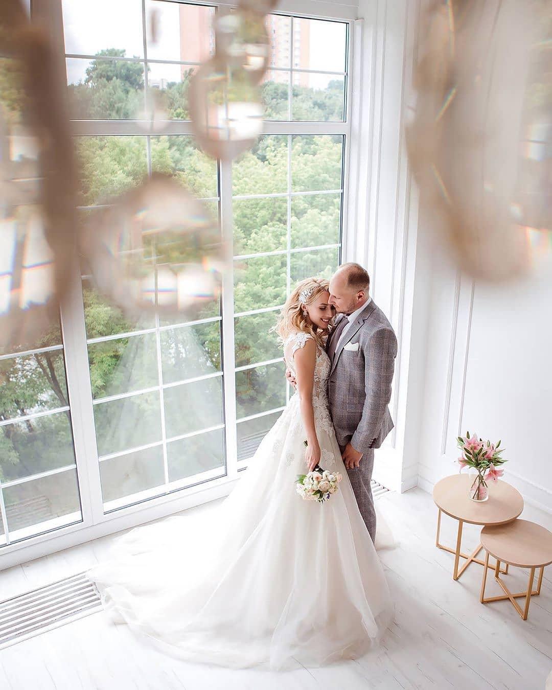 Свадебная фотосессия в фотостудии в Минске, зал Royal